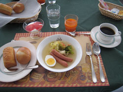 チドリホテル朝食