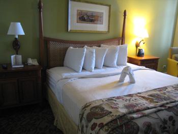 ラグーン寝室