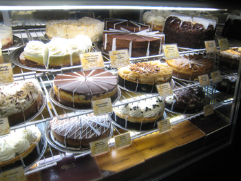The Cheesecake Factory 店内