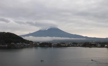 湖山亭うぶや 窓からの風景