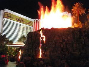 ミラージュ火山ショー