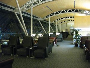 ロサンゼルス空港ラウンジ