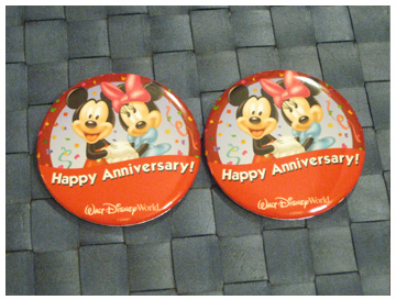 Anniversaey Button