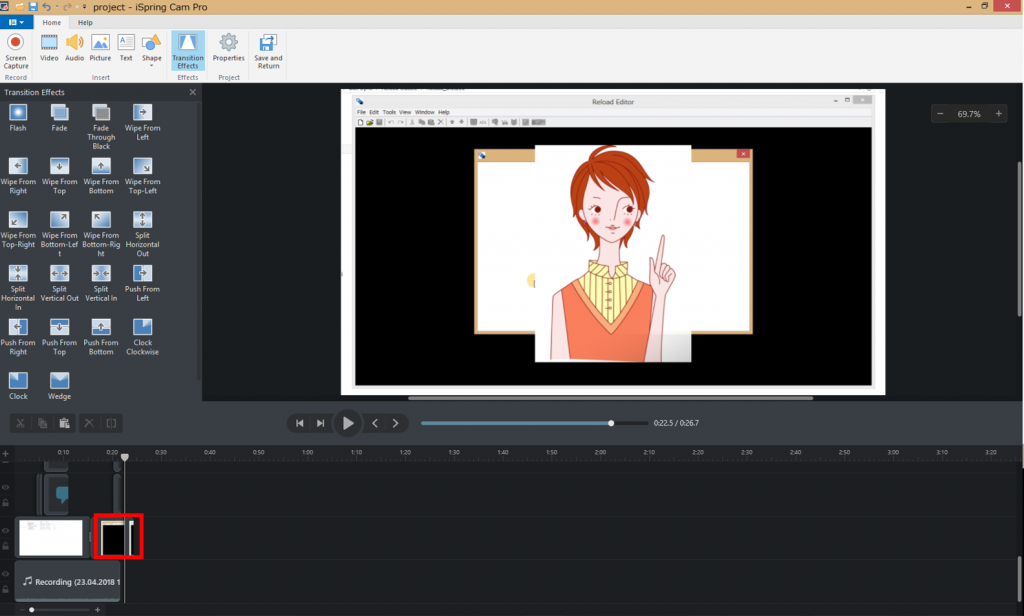 iSpring9.0ビデオ新機能