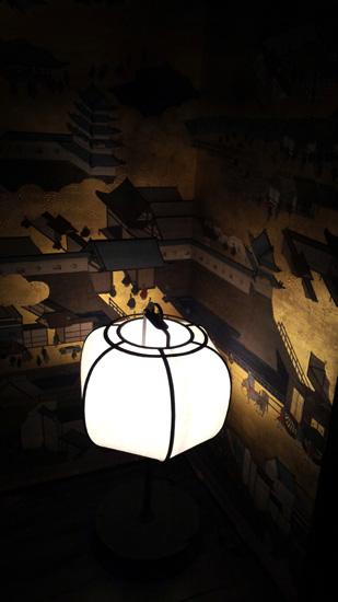 美しい灯りが迎えてくれています(*^^*)