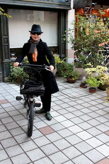 日和もよくマイ・自転車でゴー♪