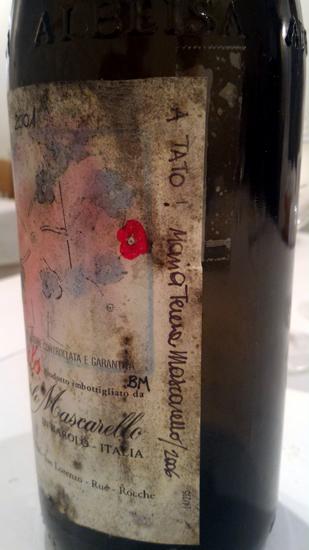 イタリア・バローロの先駆者のワインです(*^^*)