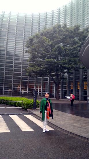 東京国立新美術館にて