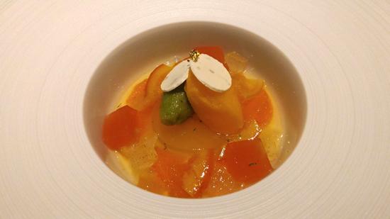 柑橘類のナージュ ソルベ