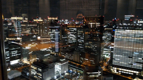 広がる東京の夜景☆