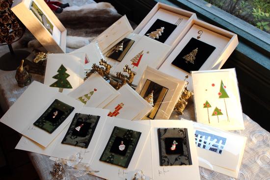 クリスマスカード&お飾り