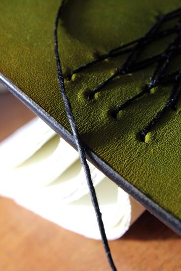 手縫い手染めノート