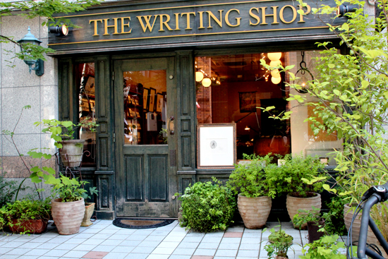 夏のTHE WRITING SHOP