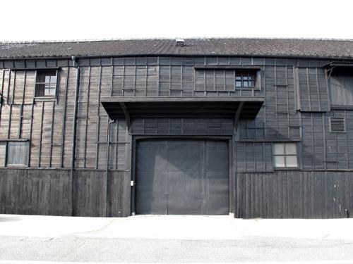 半田運河のミツカン倉庫