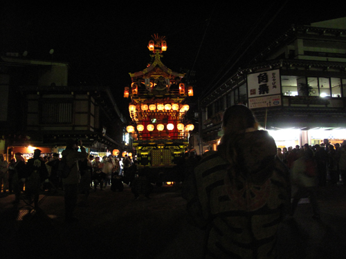 高山祭り 夜祭り