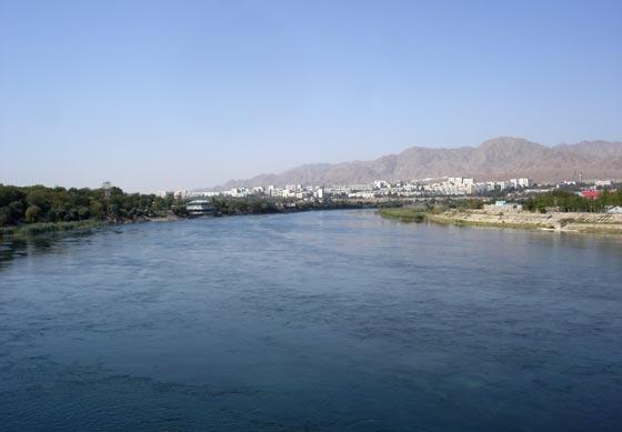 Hujand River
