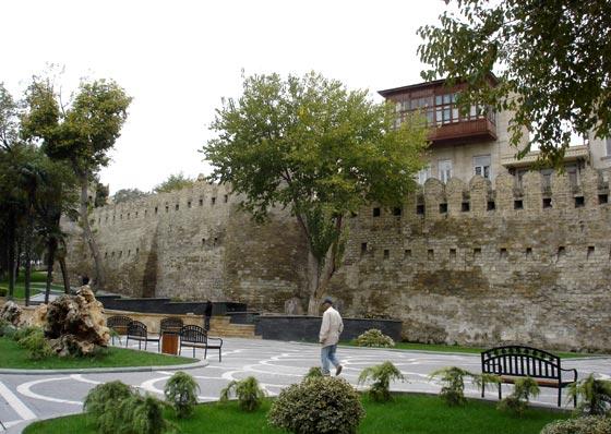 Baku City wall
