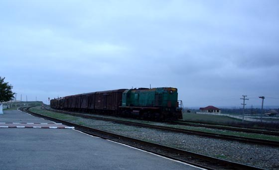 Azerbaijan Train