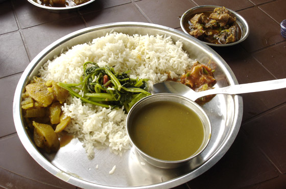 First Dish of Nepal