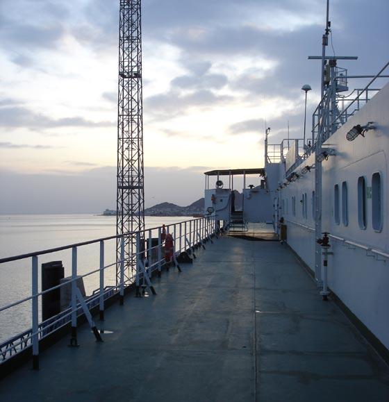 Caspian Ship