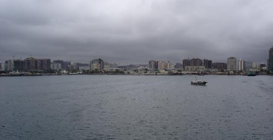Baku from Ship