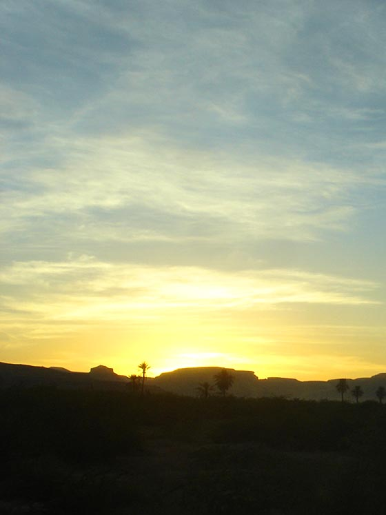 Yemen Sunset