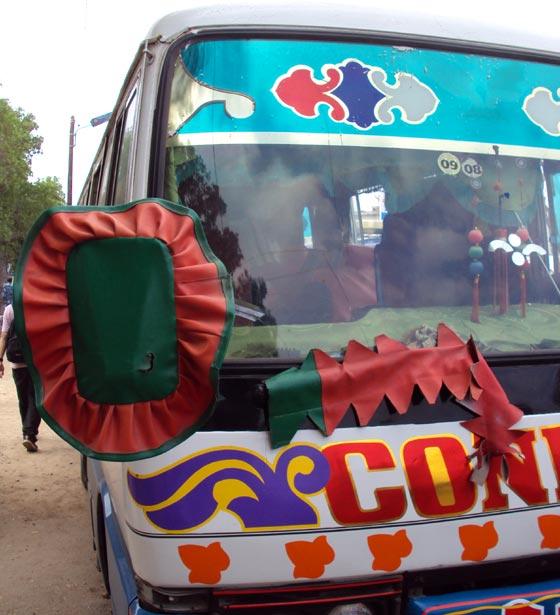 Road 2 Ethiopian Bus