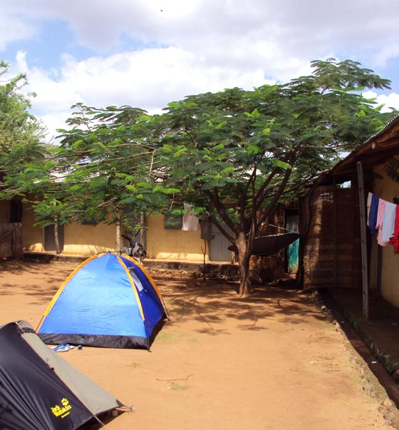 Camp in Dimeka