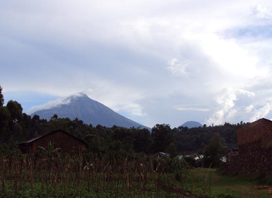 Kisoro Volcano