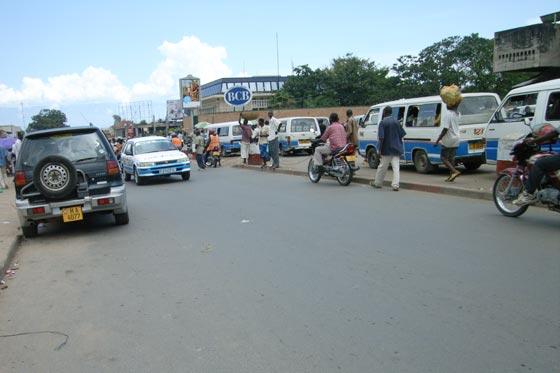 Bujunbura taxi park