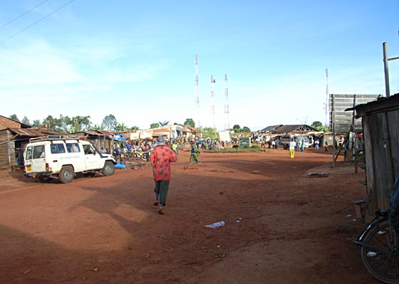 Border city in Tanzania