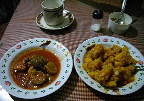 1st meal in Tanzania
