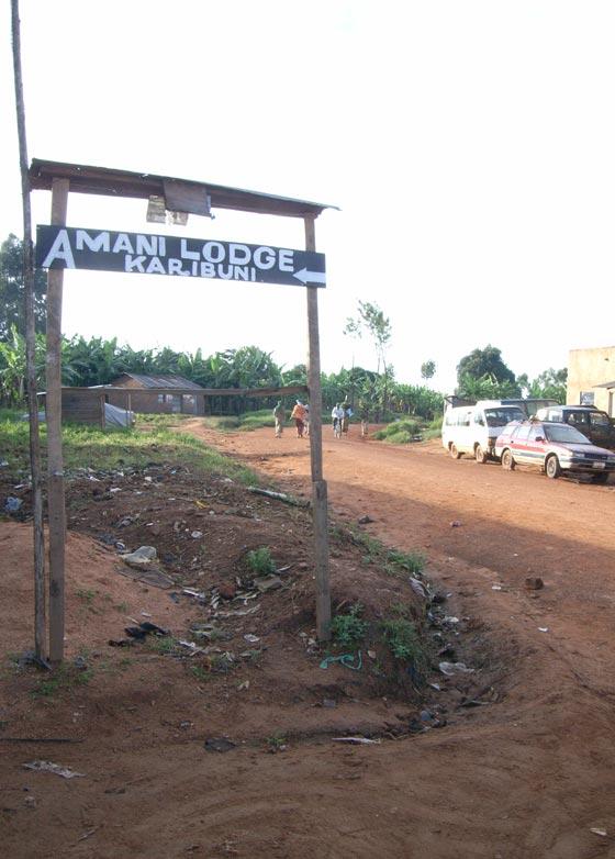 Border town in Tanzania