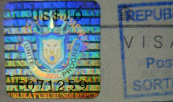 Visa | Burundi