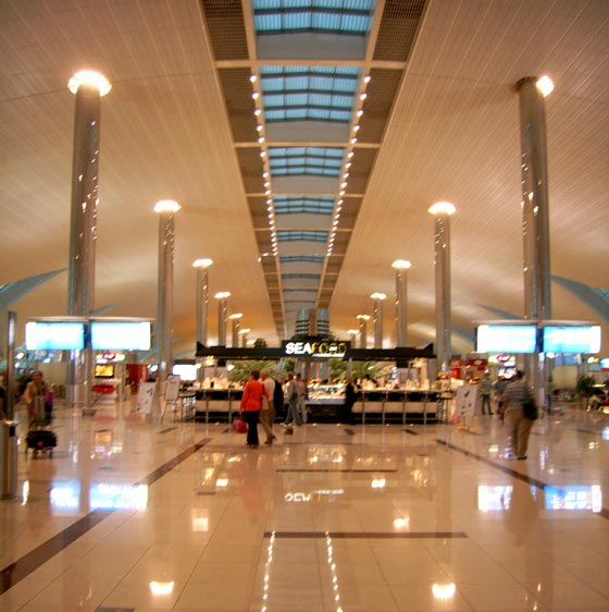 Airport in Dubai