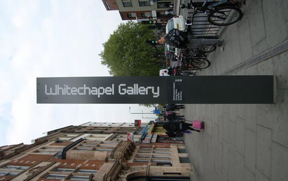 White Chapel Gallery