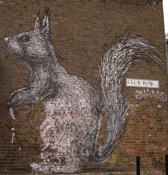 Art on tha Street in London