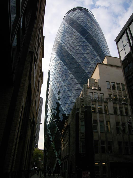 Buildings in London