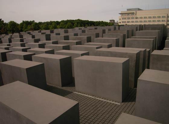 A Jewish Memorial Service Monument