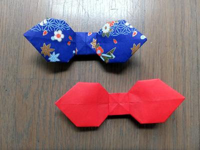 クリスマス 折り紙 折り紙 リボンの作り方 : gs-fukui28.jugem.jp
