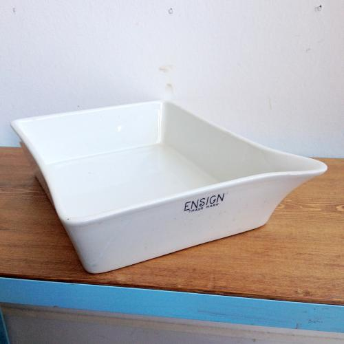イギリスヴィンテージ 陶器トレイ/ENSIGN