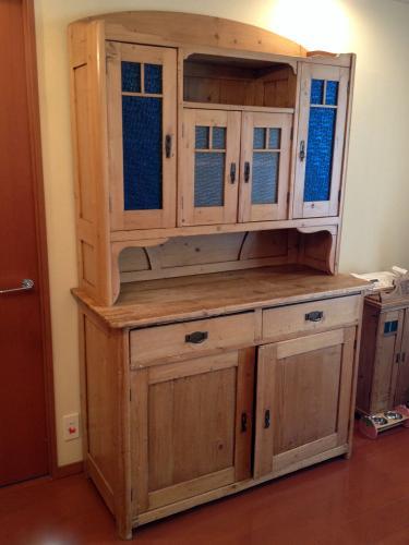 イギリスアンティーク家具 オールドパインのカップボード/ドレッサー
