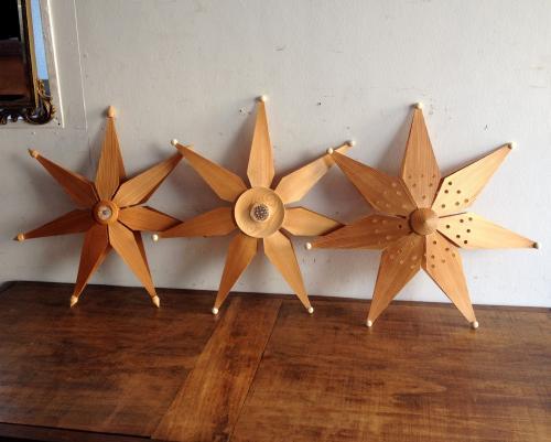デンマークヴィンテージ照明のペンダントランプ3種類1