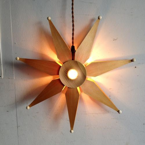 デンマークヴィンテージ照明のペンダントランプ3種類3