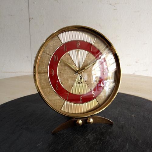 ヴィンテージ JAZの時計/クロック/置時計/目覚まし時計 M10