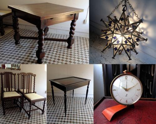 アンティーク家具、雑貨の新入荷近日アップ分です!