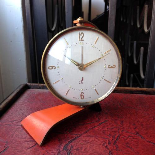 ヴィンテージ JAZの時計/クロック/置時計/目覚まし時計/フランス M19