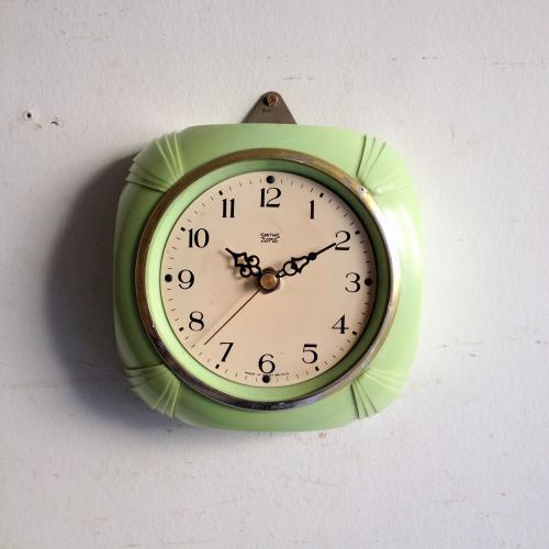 アンティーク SMITHS(スミス)壁掛け時計/ウォールクロック/イギリス A7