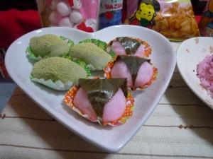 桜餅・うぐいす餅