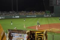 2016.8.30巨人vsヤクルト:7回裏三塁側チア・リーダ
